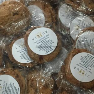 VIRTUE CBD CHOC CHIP COOKIES 10MG