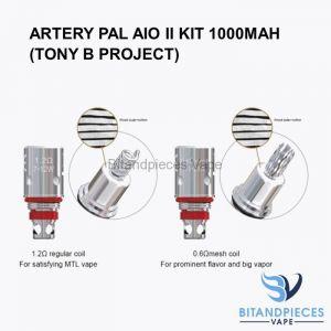 Artery PAL AIO II Kit Coils
