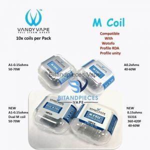 Vandy Vape Kylin M Coils