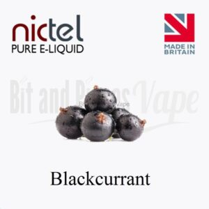 Blackcurrant E-Liquid by NictelBlackcurrant E-Liquid by Nictel