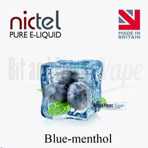 Blue Menthol E-Liquid by Nictel