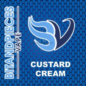 Custard Cream E-Liquid by Bitandpieces Vape