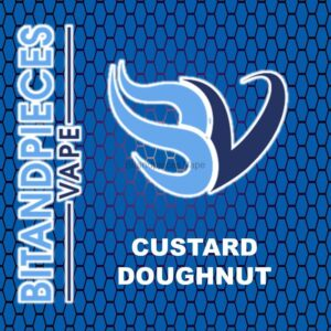 Custard Doughnut E-Liquid by Bitandpieces Vape