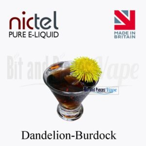 Dandelion Burdock E-Liquid by Nictel