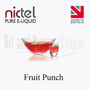 Fruit Punch E-Liquid by Nictel