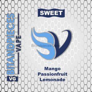 Mango passionfruit lemonade