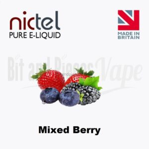 Mixed Berry E-Liquid by Nictel