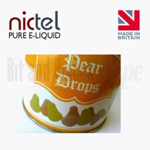 Pear Drops E-Liquid by Nictel