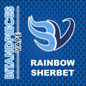 Rainbow Sherbet E-Liquid by Bitandpieces Vape