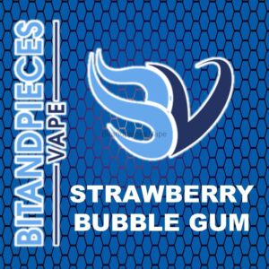 Strawberry Blubble Gum E-Liquid by Bitandpieces Vape
