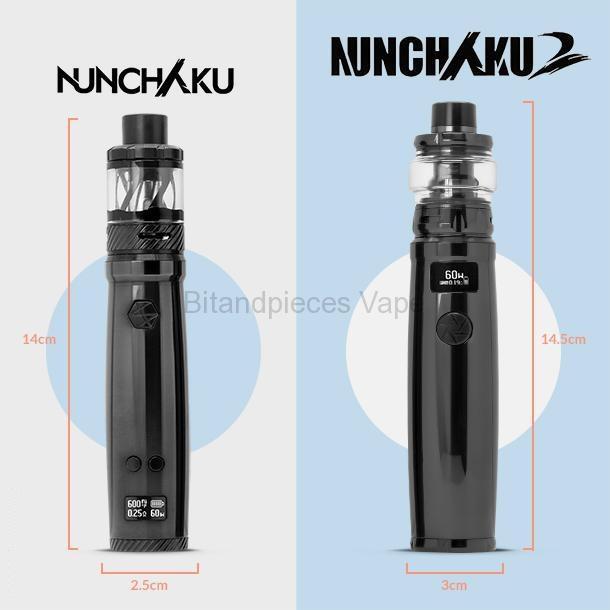 Nunchaku 2 Kit - Comparison