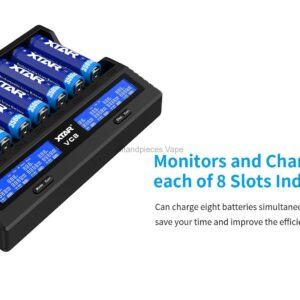 VC8 USB Smart Battery Charger