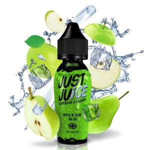 apple pear on ice