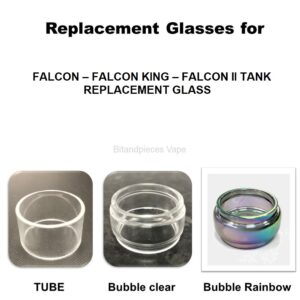 FALCON – FALCON KING – FALCON II TANK – REPLACEMENT GLASS