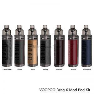 DRAG X 18650 Mod Pod Kit