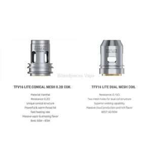 TFV16 Lite Replacement Coils - Pack Of 3 coils