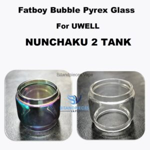 nunchaku 2 bubble glass