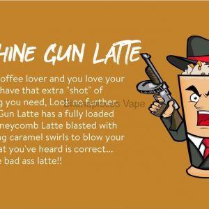Machine Gun latte