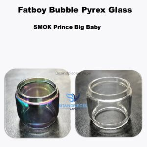 SMOK TFV8 Prince Big Baby Replacement Fatboy Glass