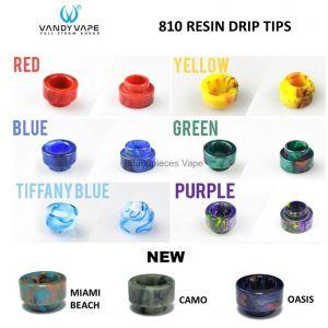 vandy vape 810 resin drip tips