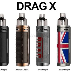 DRAG X 18650 Mod Pod Kit NEW COLOURS XL Edition