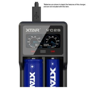 Xtar VC2S Fast Charger