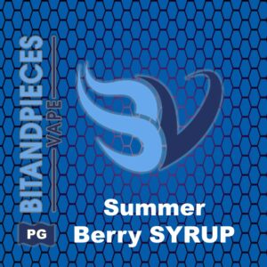 Summer berry Syrup