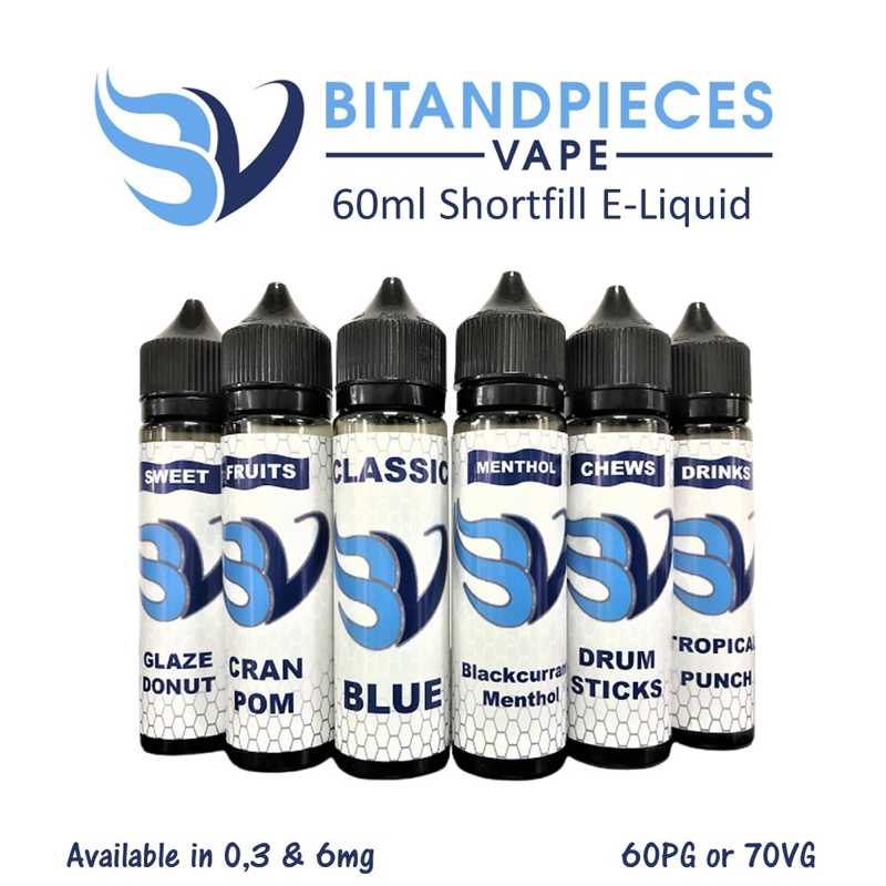 Bitandpieces Vape 60ml Shortfill e-liquid