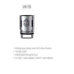 V8 T8 coils (3 pack)