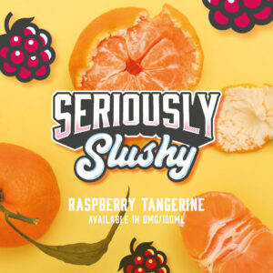Raspberry Tangerine by seriously slushy 120ml