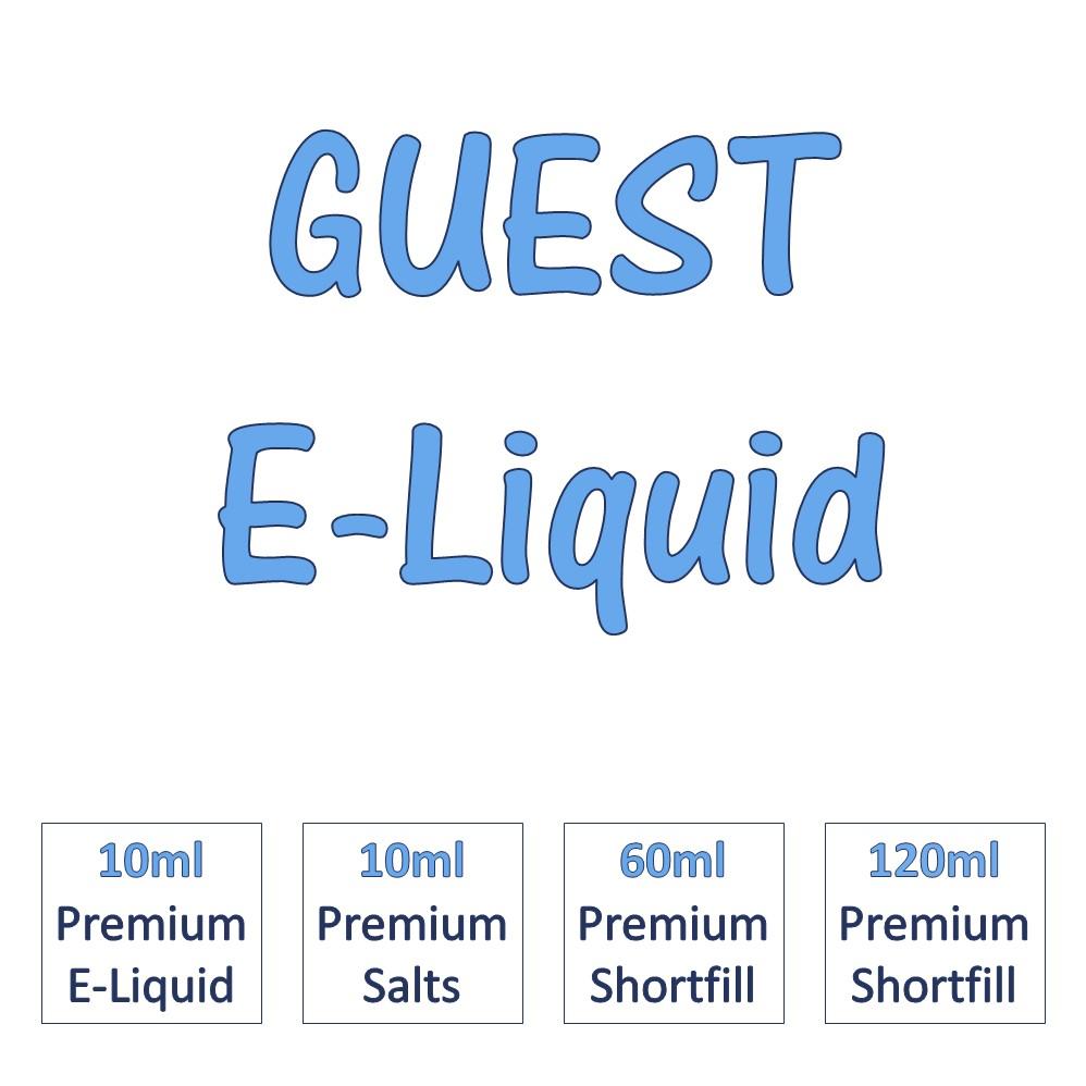 Guest e-liquids banner - home page