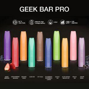 Geek Bar Pro 1500 Puff Disposable Pod