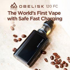 Obelisk 120 FC Kit 3700mAh | Charging Adapter Included